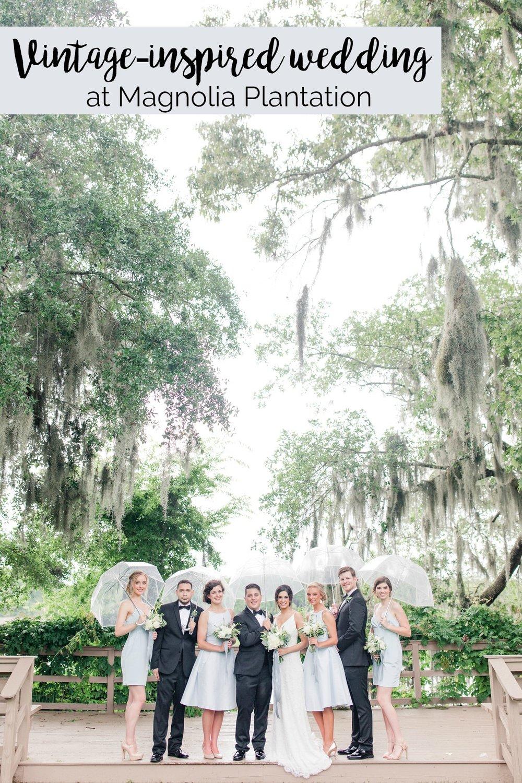 Vintage-inspired Wedding Styled Shoot at Magnolia Plantation, Charleston, South Carolina | Palmetto State Weddings | McSween Photography | Charleston SC wedding