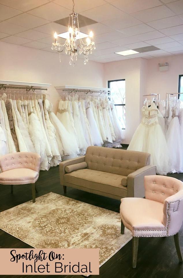 Spotlight On: Inlet Bridal, Murrells Inlet, South Carolina | Palmetto State Weddings | bridal salons in Myrtle Beach, South Carolina