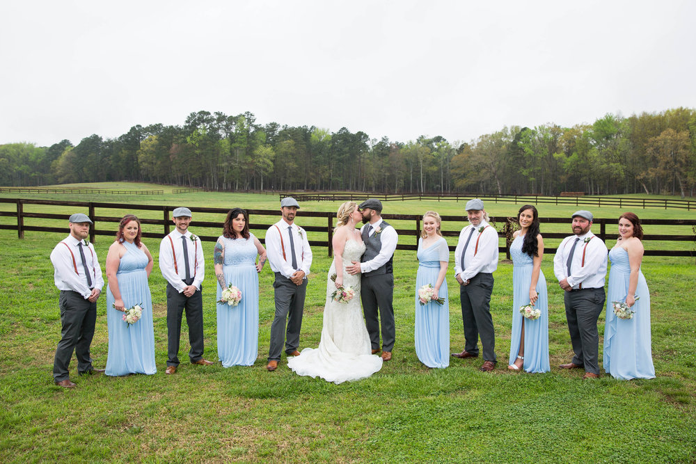 Ashley + Cody: Upbeat Wedding at the Farm at Ridgeway | Palmetto State Weddings