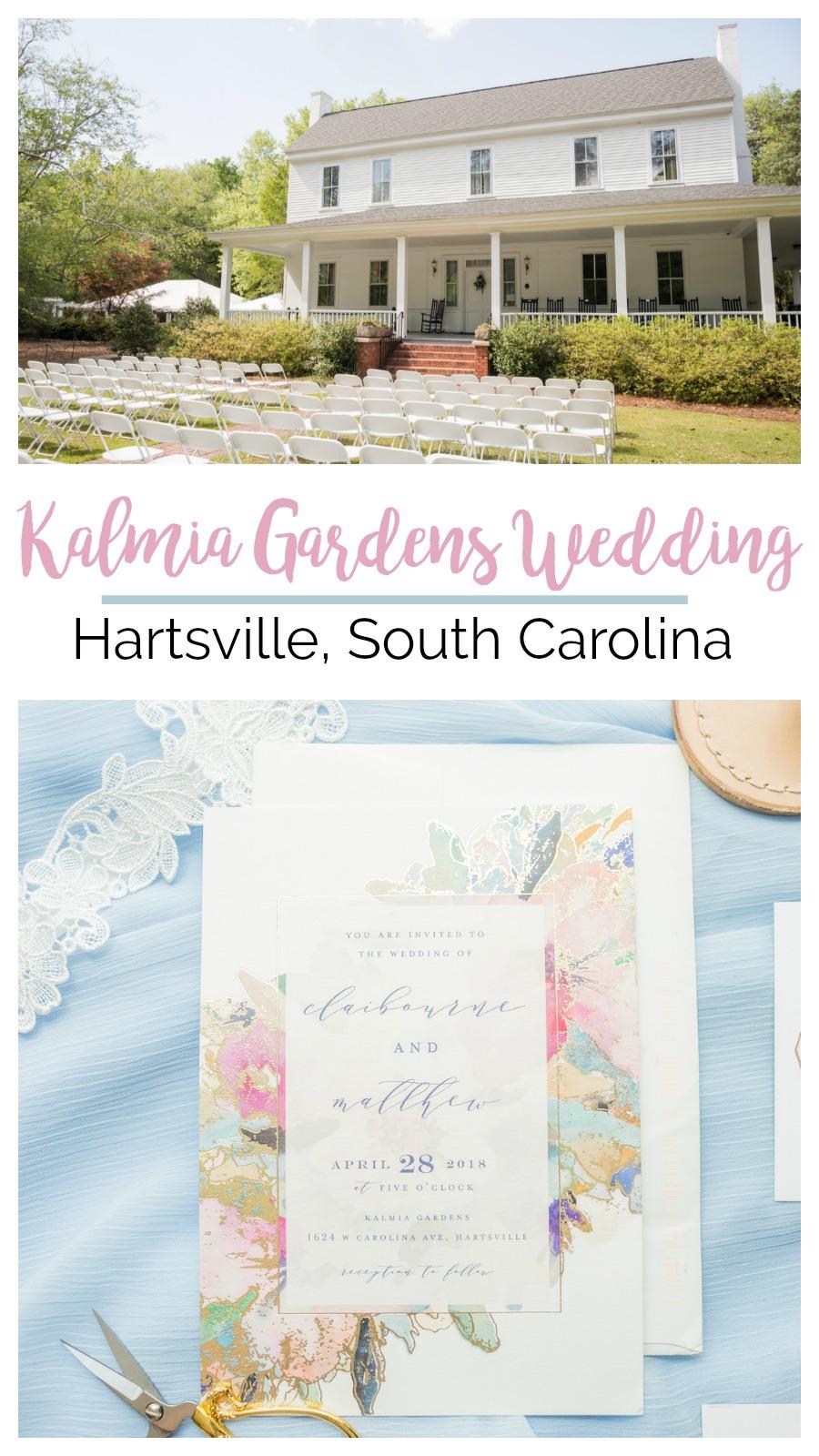 Claibourne + Matt: Poignant Kalmia Gardens Wedding, Hartsville, South Carolina | Palmetto State Weddings | Jessica Hart Photography | outdoor garden wedding | baby blue wedding inspiration