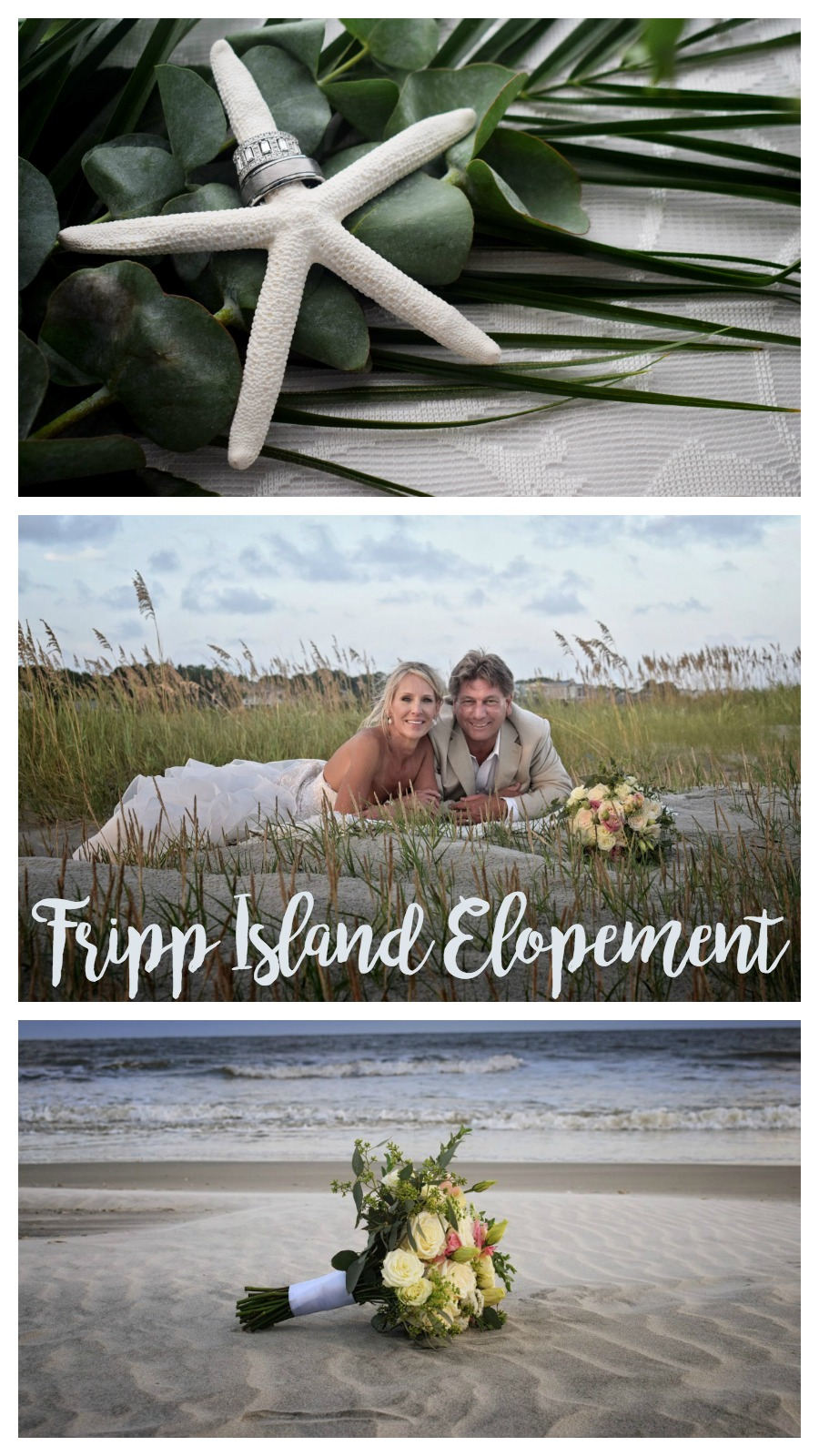 Marian and Jeff: Oceanfront Fripp Island Elopement | Palmetto State Weddings | Dandelion Weddings Photography | South Carolina beach wedding | casual beach wedding inspiration