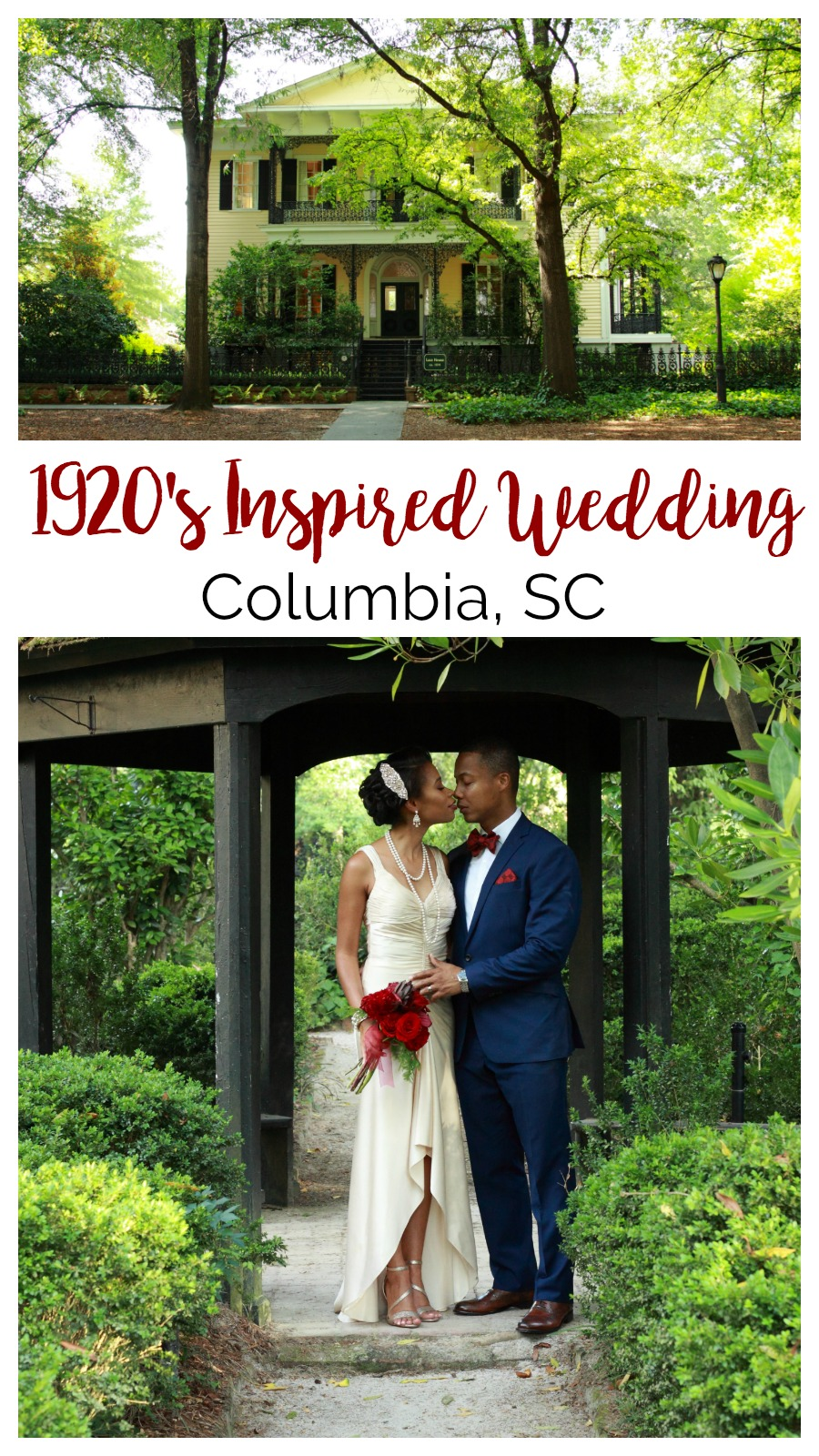 Burgundy and Navy Southern Renaissance Styled Shoot at the Lace House | Palmetto State Weddings | Gadson Photography and Design | Columbia SC wedding | styled shoot inspiration | Gatsby wedding | 1920s wedding inspiration
