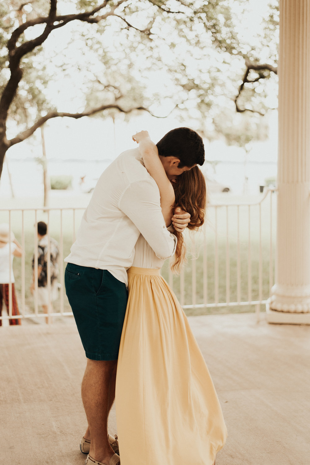 Kate and Joseph: Engagement at White Point Garden | Palmetto State Weddings