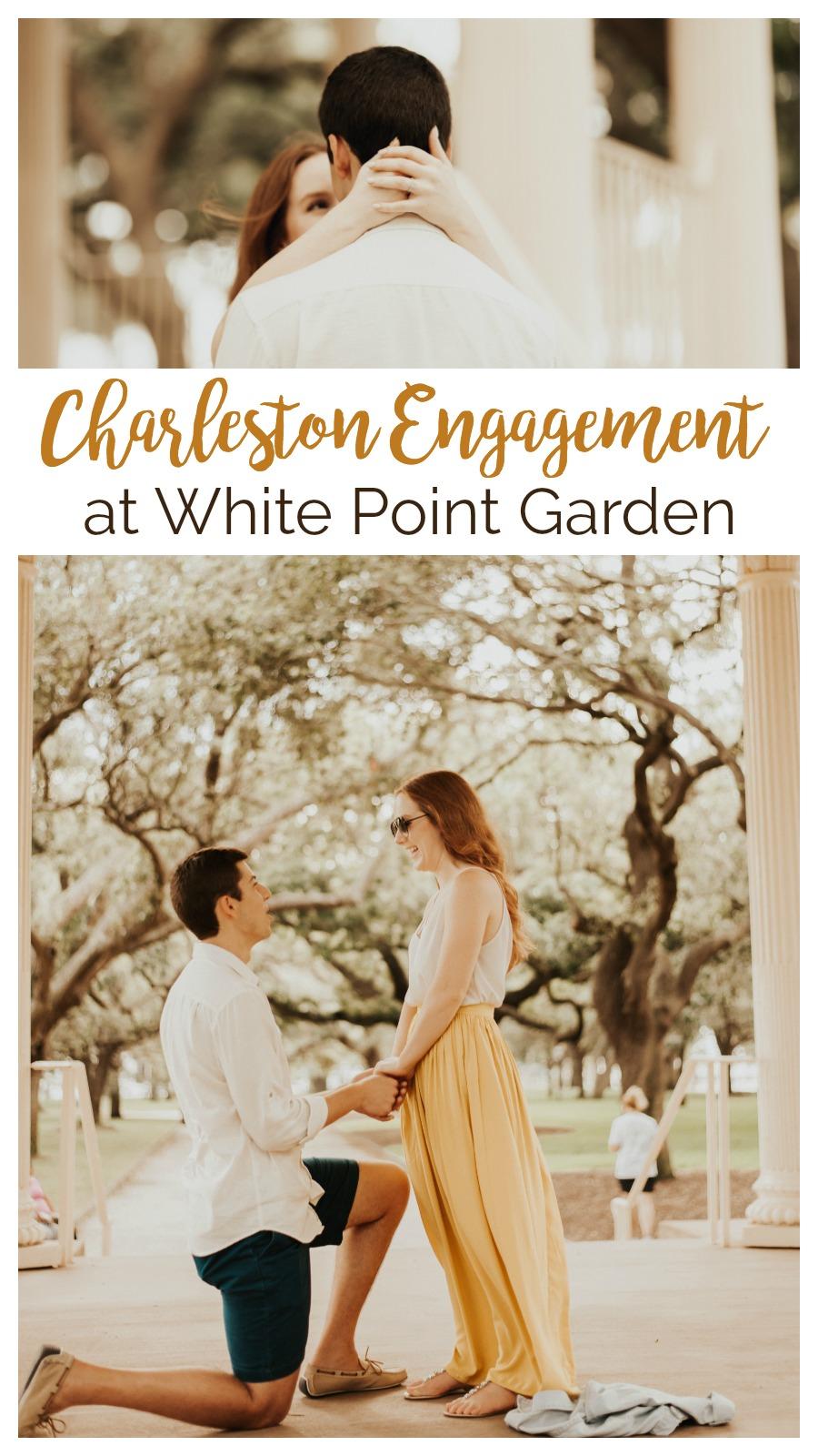 Kate and Joseph: Engagement at White Point Garden, Charleston, South Carolina | Palmetto State Weddings | Belisia Rodriguez Photography | Charleston proposal inspiration | Charleston weddings