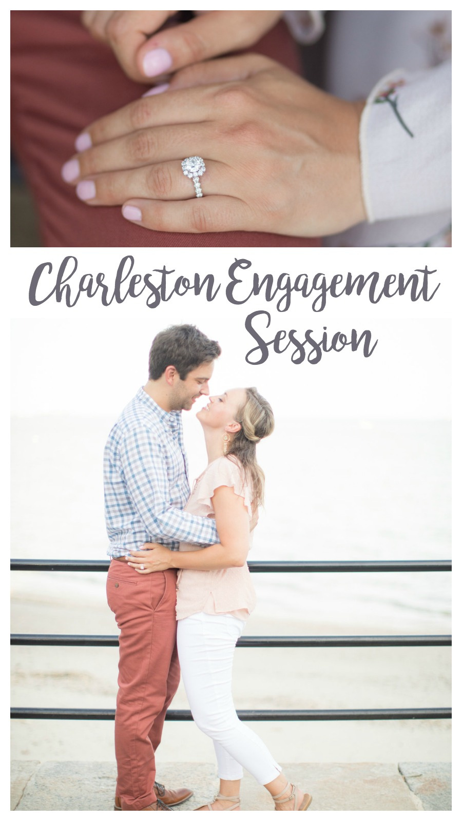 Kelsey and Chris: Downtown Charleston Engagement Session | Palmetto State Weddings | Kelly Vann Calaway Photography and Copahee Media | engagement session inspiration | engagement photography