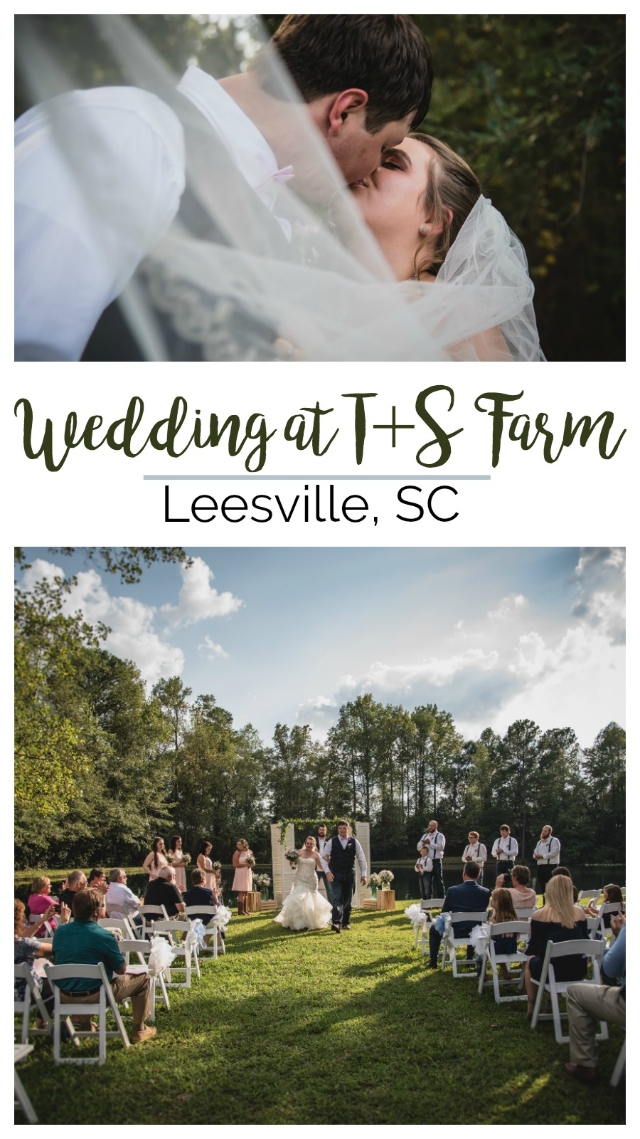 Anna and Dustin: Adorable Firefighter Wedding at T&S Farm, Leesville, South Carolina | Palmetto State Weddings | Northern Red Photography | farm wedding south carolina | southern barn wedding | Columbia SC wedding