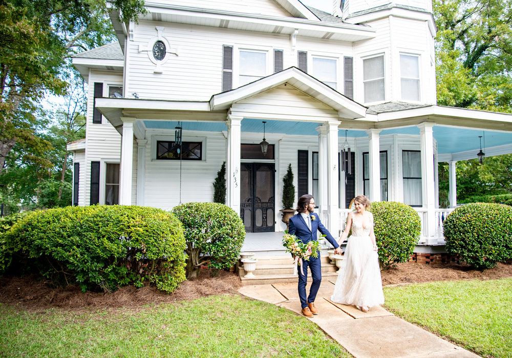 Soft and Romantic Wedding Styled Shoot at the Thomas House and Garden | Palmetto State Weddings