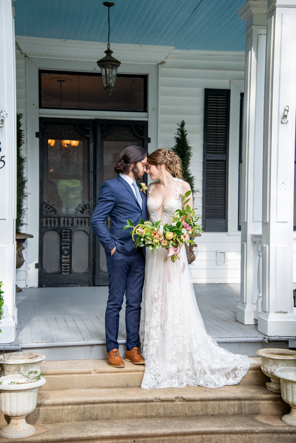 Soft and Romantic Wedding Styled Shoot at Thomas House and Garden | Palmetto State Weddings