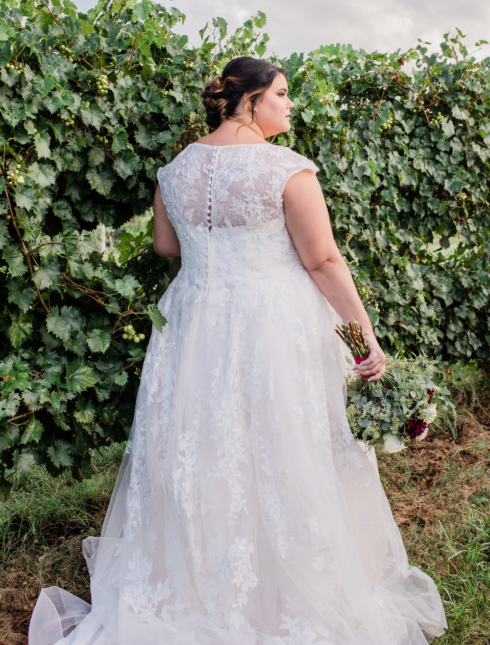 Brandi's Bridal Portraits at Chattooga Belle Farm | Palmetto State Weddings