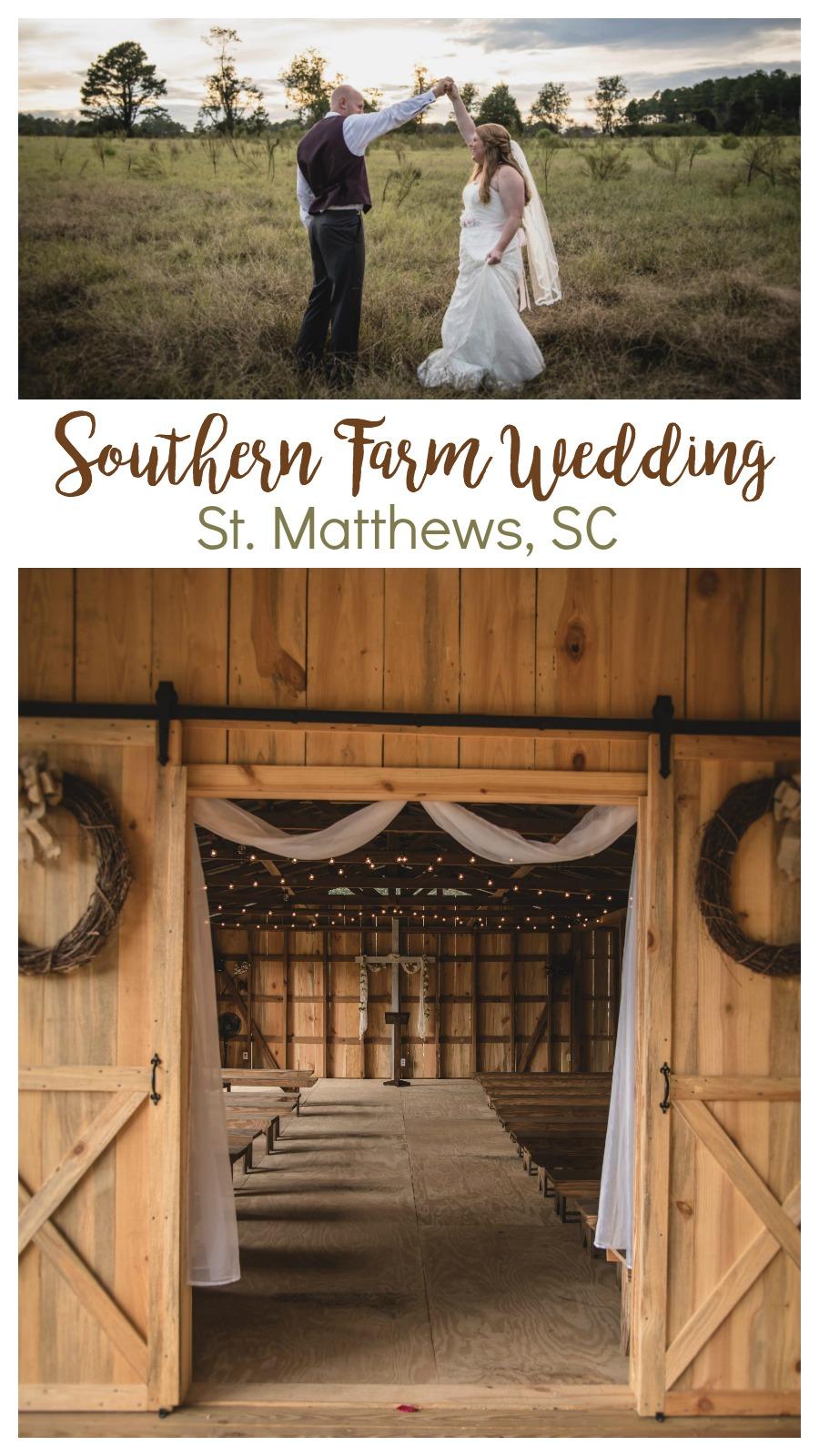 Savannah and Stephen: Sentimental Wedding in St. Matthews, South Carolina | Palmetto State Weddings | Northern Red Photography | farm wedding South Carolina | Southern farm wedding | red barn wedding