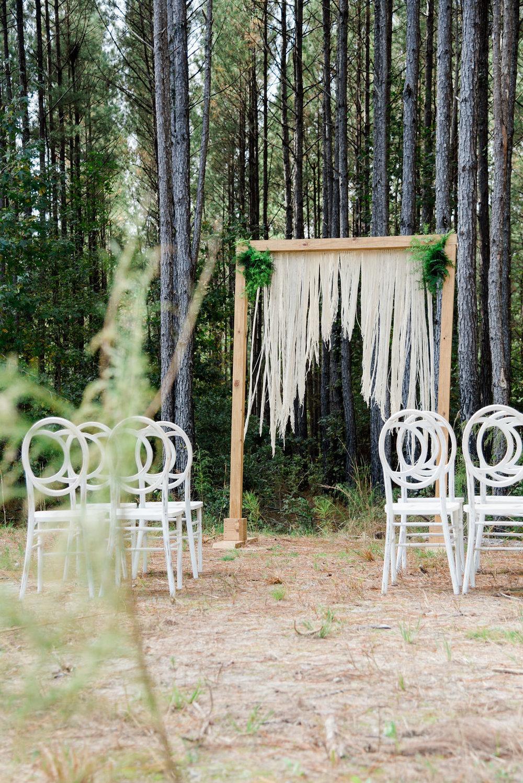 Green and Gold Winter Wonderland Wedding   Palmetto State Weddings