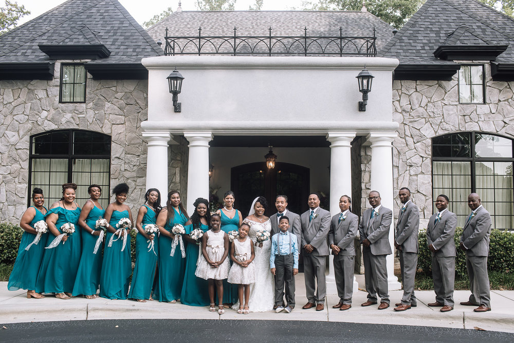 Venah + Louis: Joyous Blended Family Wedding at Breakfield at Riverwalk | Palmetto State Weddings