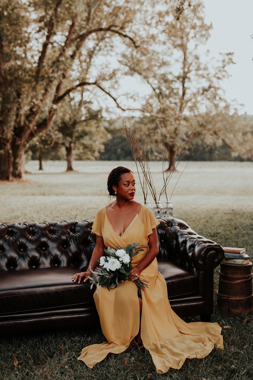 Southern Gothic Wedding Styled Shoot at Aeolian Hill Plantation | Palmetto State Weddings