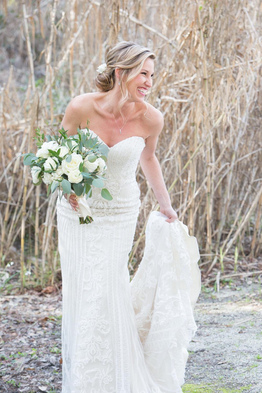 Nicole + Michael: Neutral, Modern Wedding at Magnolia Plantation | Palmetto State Weddings
