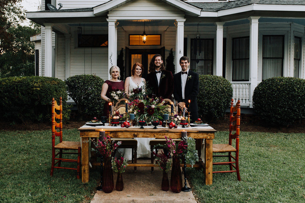 Velvet, Satin and Berry Wedding in Ridgeway, SC | Palmetto State Weddings