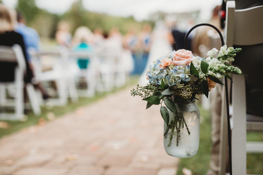 Paige + Derek: Fun-filled Rock Bottom Pond Wedding | Palmetto State Weddings