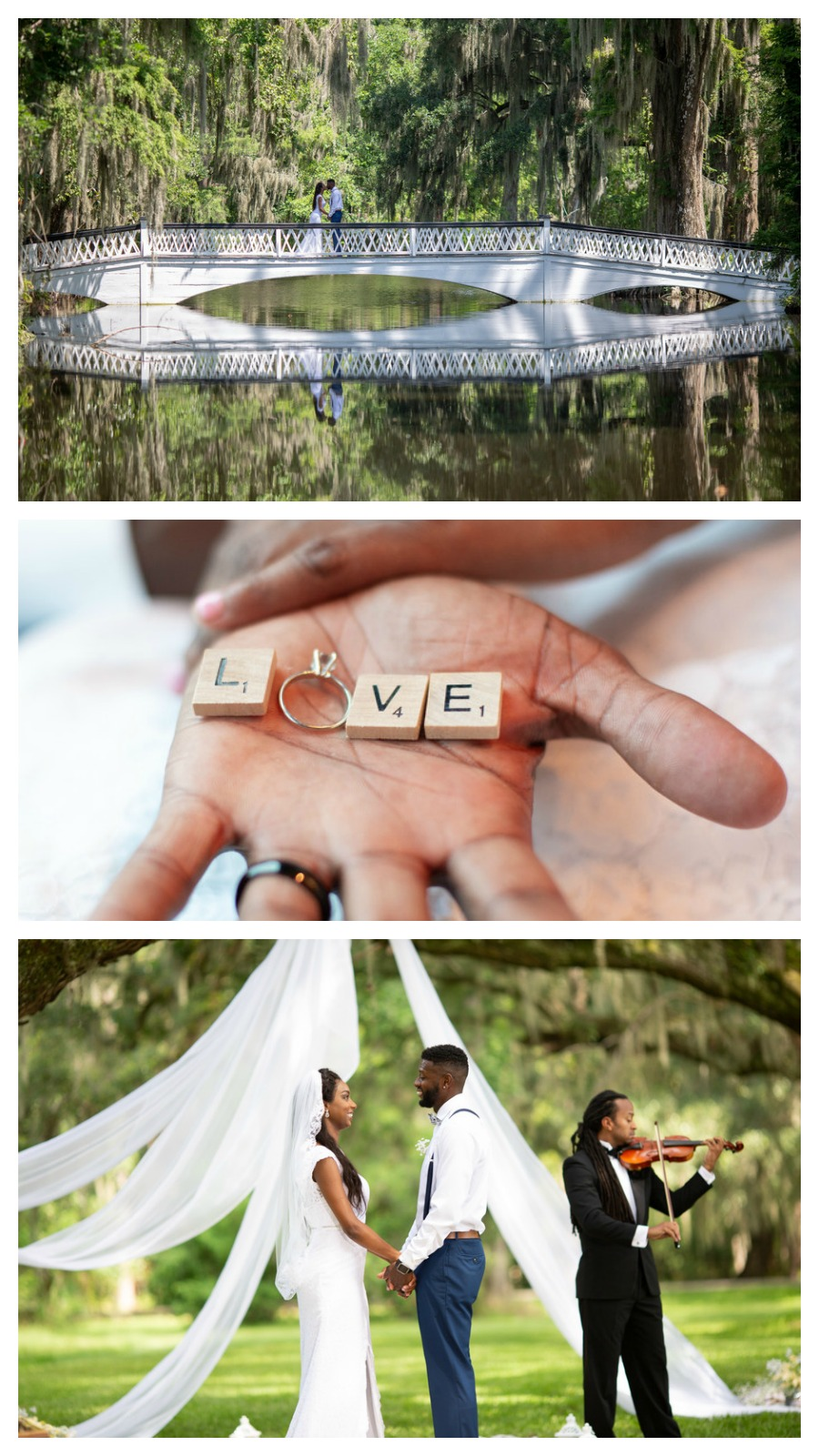 Christina and Keith: Intimate Outdoor Elopement at Magnolia Plantation | Palmetto State Weddings | Kevin Maurice Photography | Charleston elopement | small Charleston wedding venue | Charleston SC wedding