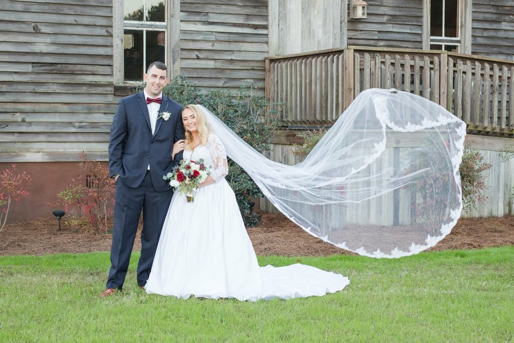 Charity + Kevin: Rustic Southern Wedding at Hidden Acres, Marion, SC | Palmetto State Weddings