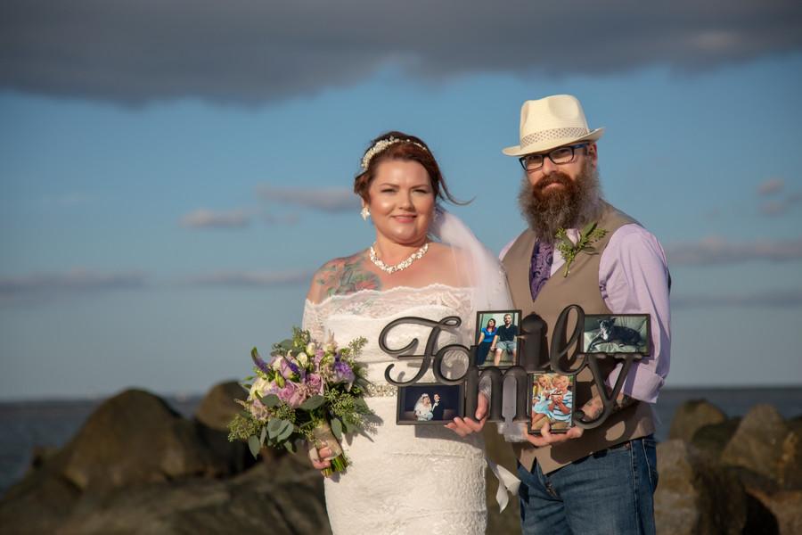 Jennifer + Scott: Charleston Vow Renewal on Folly Beach   Palmetto State Weddings