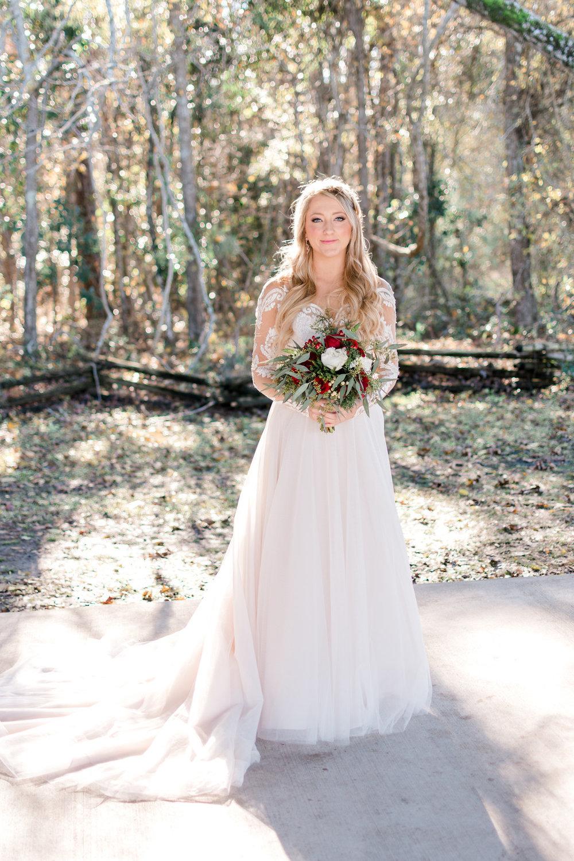 Kiley and Matt: Elegant Christmas Wedding at Medicine Wind Farms   Palmetto State Weddings