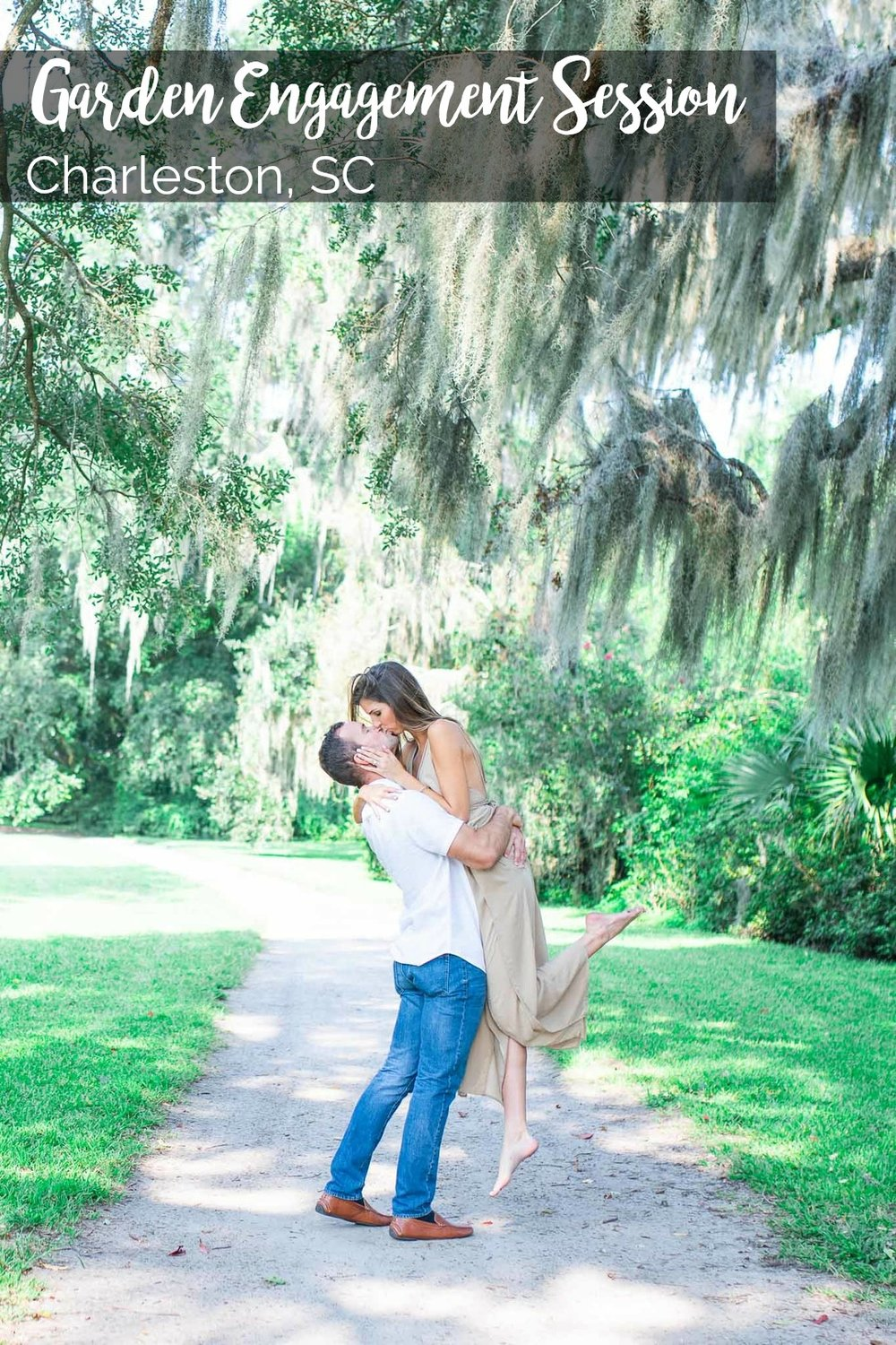 Lauren and Zac: Captivating Garden Engagement Session at Magnolia Plantation | Palmetto State Weddings | Simply Picturesque Photography | Charleston SC wedding | romantic Charleston locations