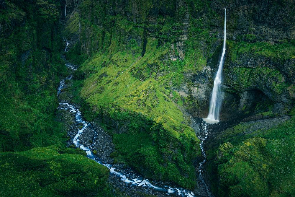 (Vatnajokull National Park, Iceland)
