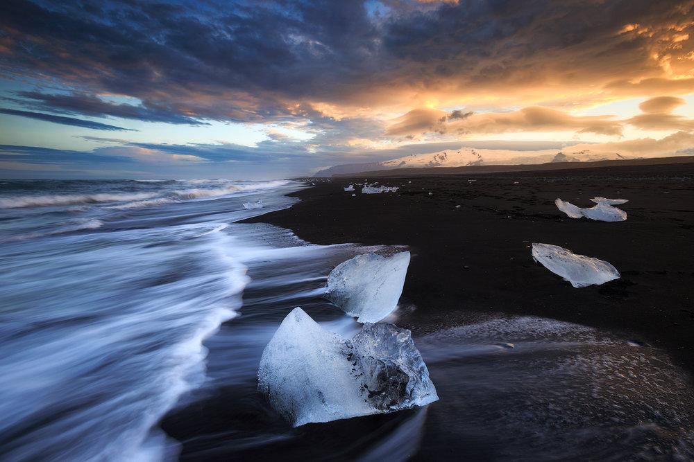 (Jokulsarlon, Iceland)