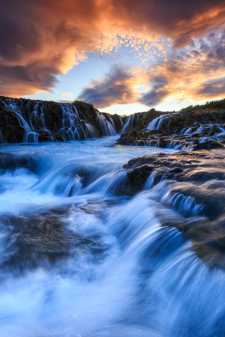 (Bruarfoss, Iceland)