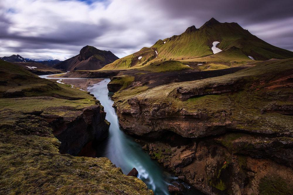 (Fjallabak nature reserve, Iceland)