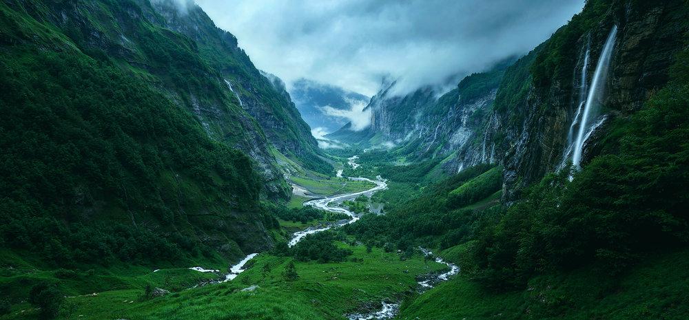 (Chamonix region, France)