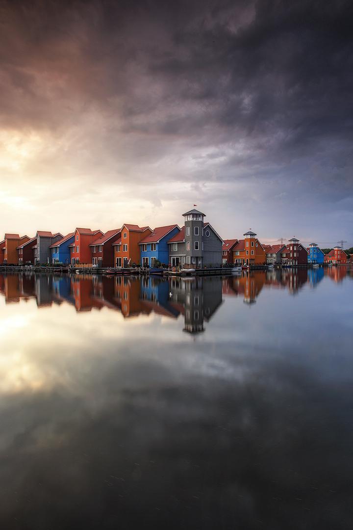 Colourfull houses (Groningen, The Netherlands)