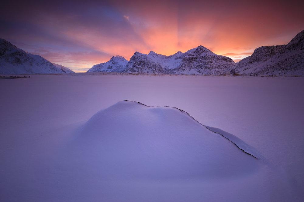 Skagsanden, Lofoten