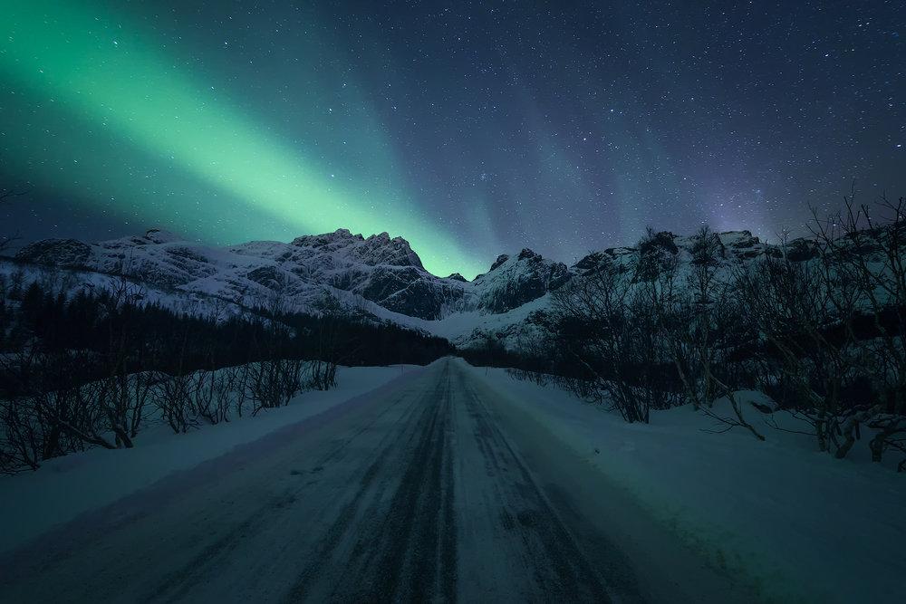 Road to Nusfjord, Lofoten