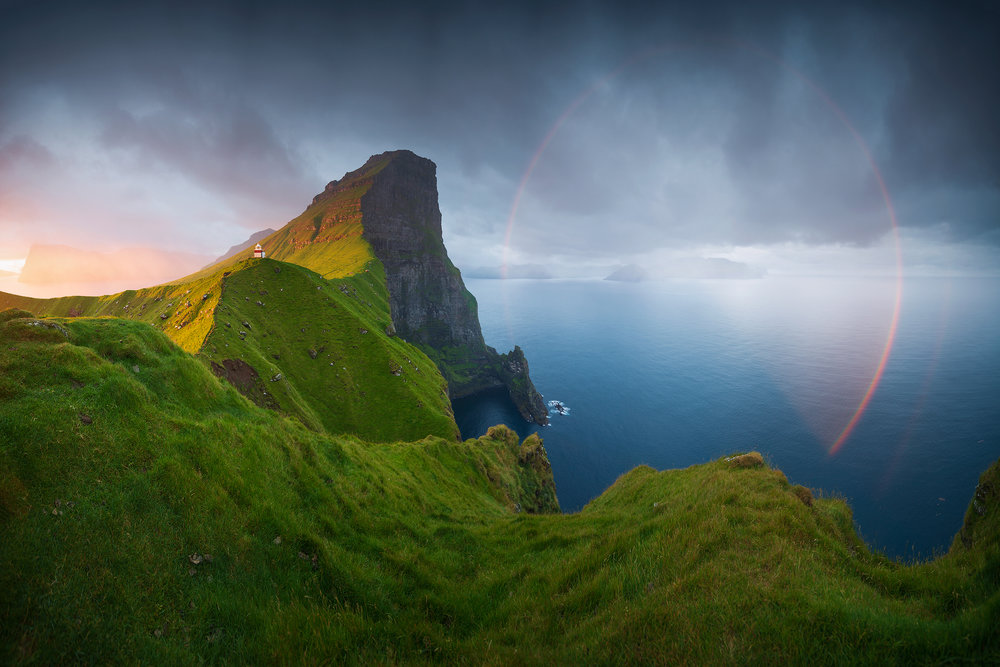 Kallur lighthouse, Faroe Islands