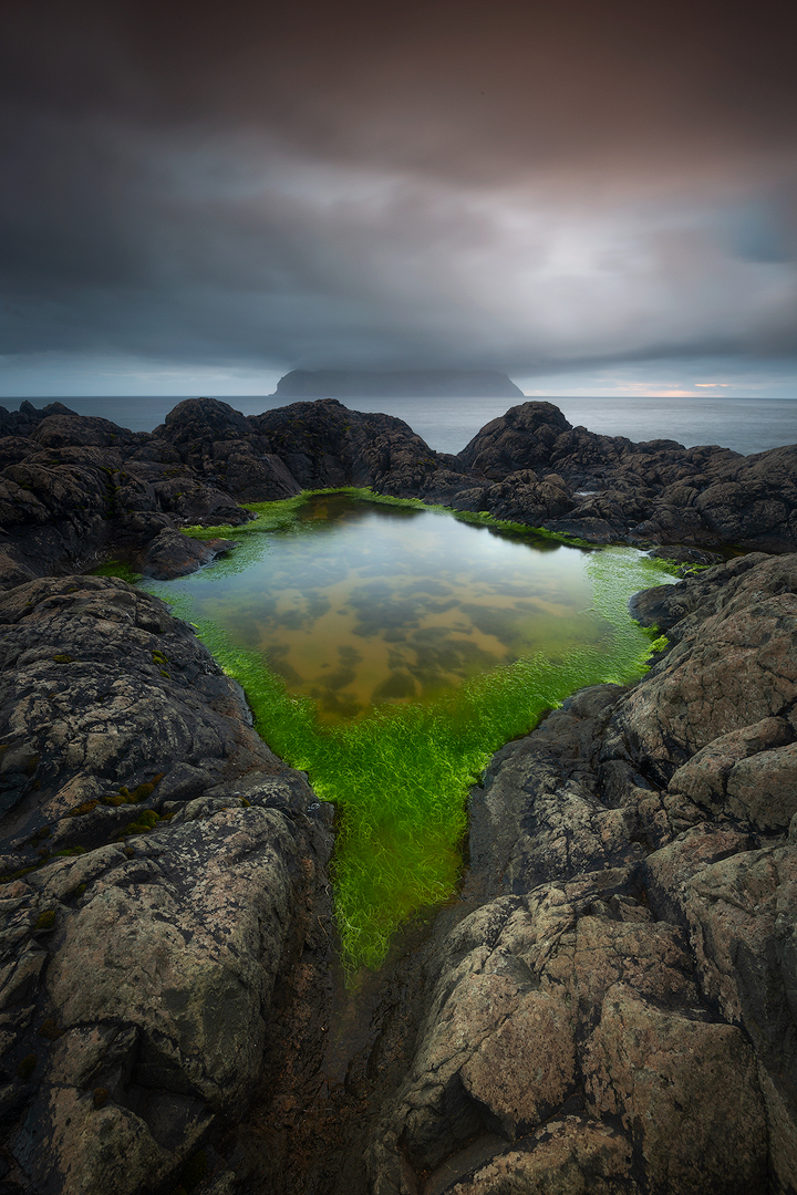 The green eye, Faroe Islands