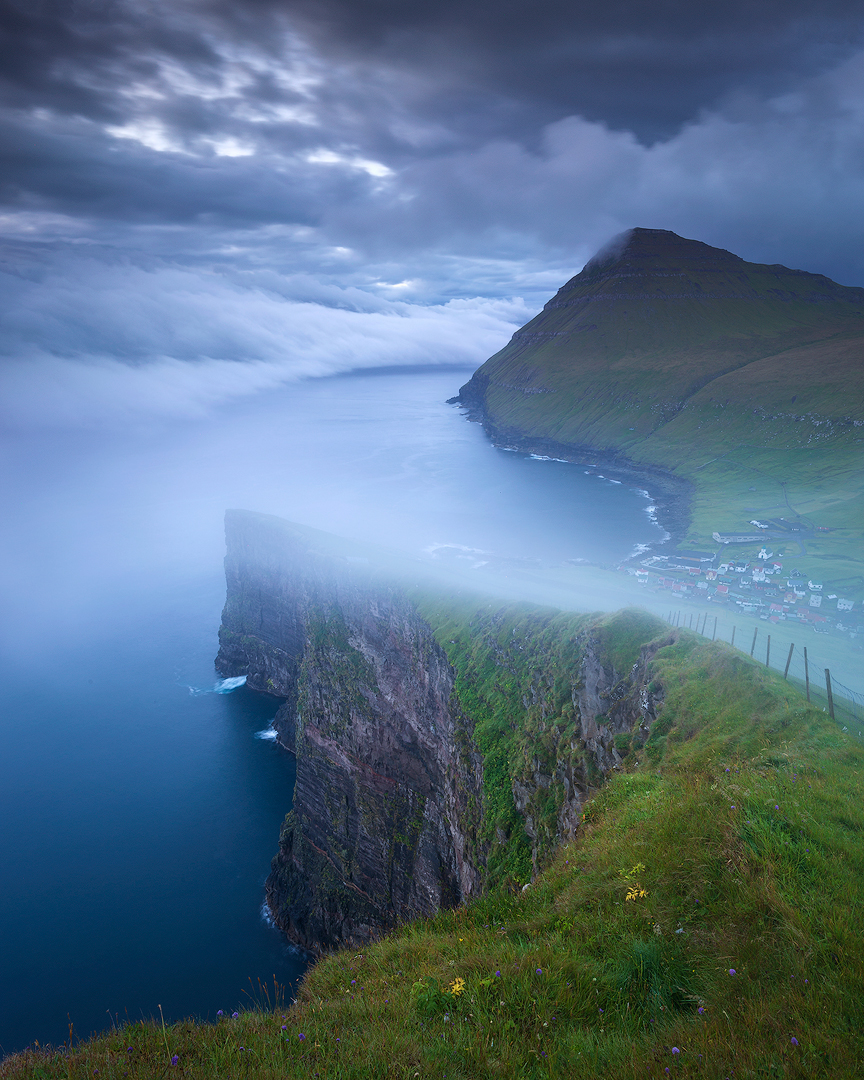Mist & clouds, Faroe Islands