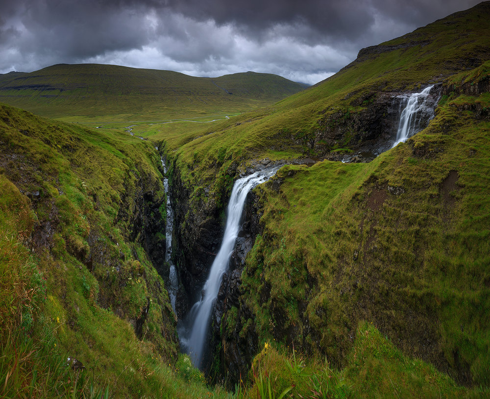 Unknown waterfall, Faroe Islands