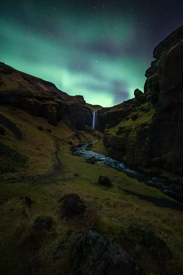 Kvernufoss, Iceland