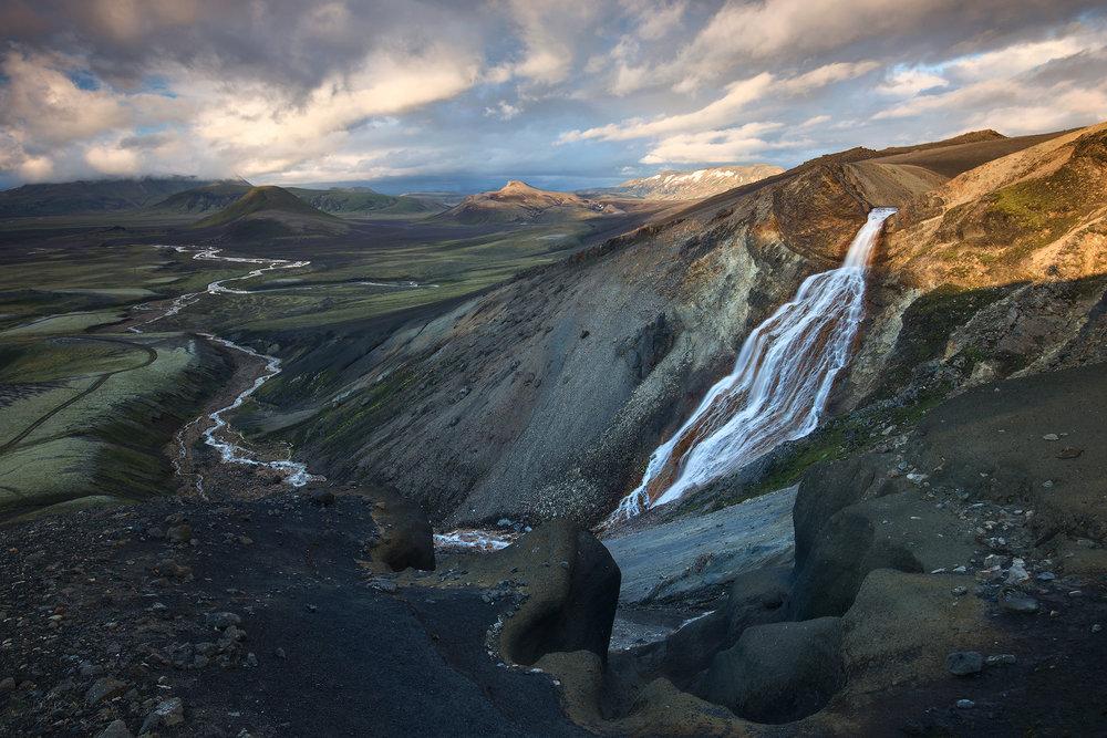 Iceland : Fjallabak nature reserve -