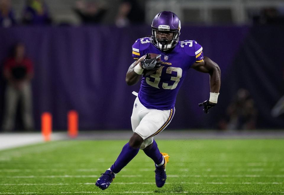 Dalvin Cook courtesy of Vikings.com