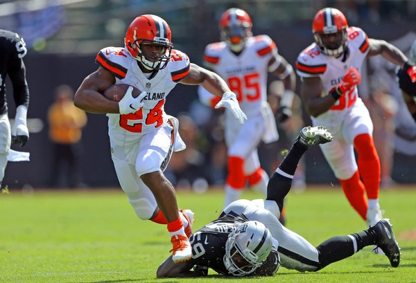 Browns RB Nick Chubb could be a league winner. (Joshua Gunter / cleveland.com)