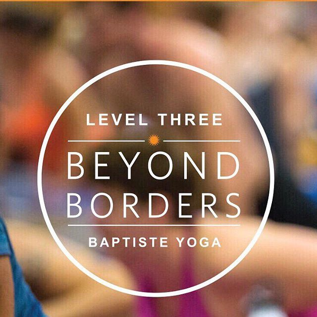 // I'M A YES TO LEVEL 3 // I GIVE UP WHAT I MUST // I'M READY NOW // ⠀ #baptisteyoga #baptistelevel3 #baptisteyogasingapore #disruptthedrift #beayes  Photo Credit: @baptisteyoga ⠀ ⠀