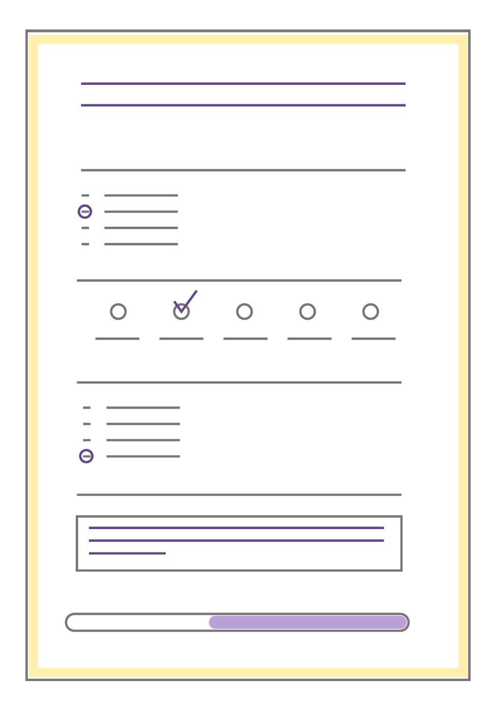Sondage, questionnaire en ligne