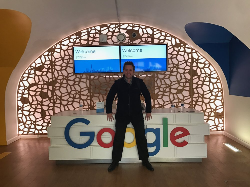 Mark, CTO de Findly, au Google Summit pour 360&1