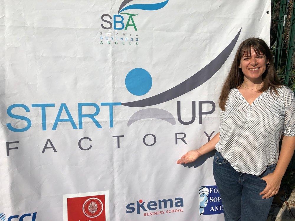 Startup Factory, 14 juin 2018, à Sophia Antipolis