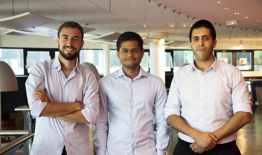 La team internationale Hideberg, startup mobilité internationale et opportunité professionnelle