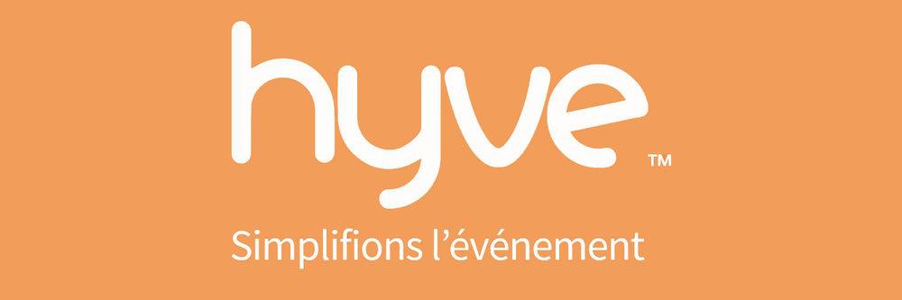 Logo + Modo startup Hyve, simplifions l'évènement