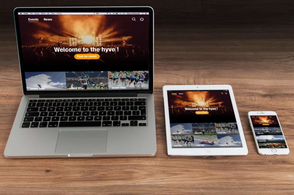 La plateforme Hyve simplifie l'évènement aussi bien du côté des organisateurs que des utilisateurs.