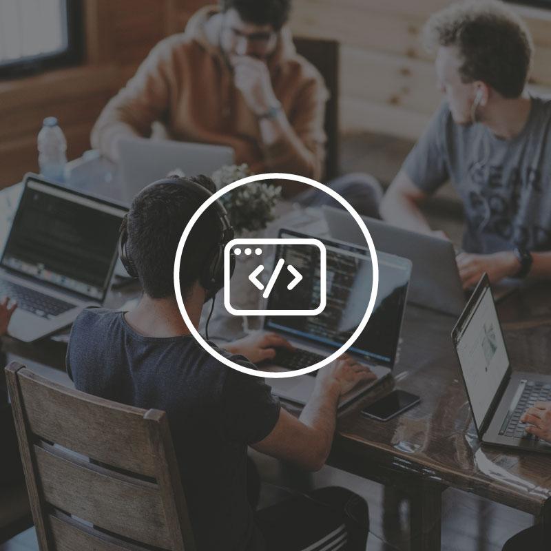 agence conseil en stratégie pour startups, partenaire en développement IT pour MVP, logiciel, plateforme
