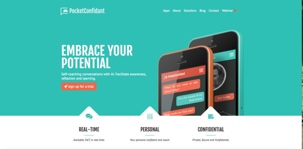 Self-coaching avec l'application AI PocketConfidant